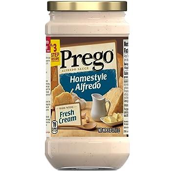 Prego Pasta Sauce Homestyle Alfredo Sauce