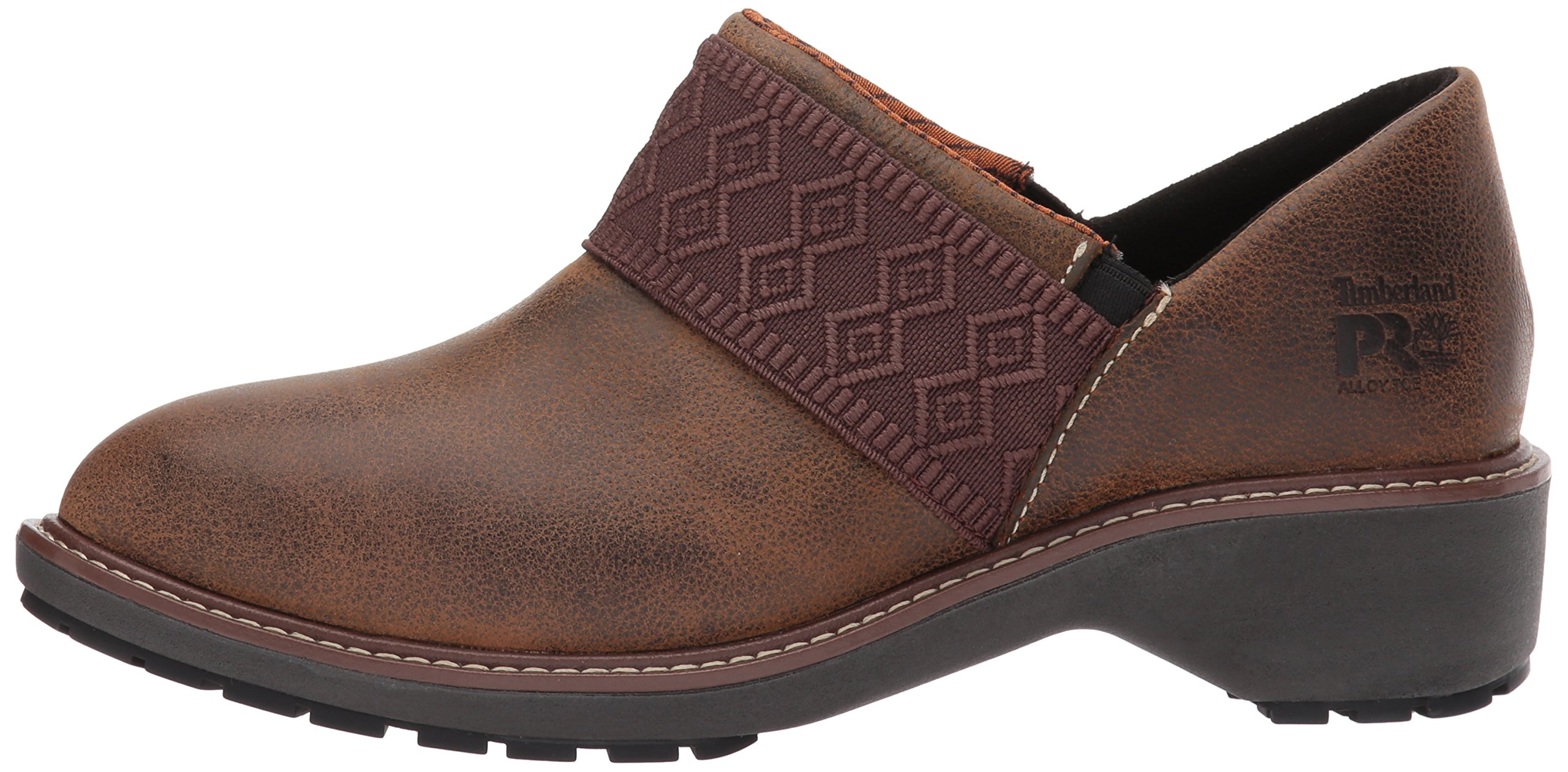 Timberland PRO Women's Riveter Alloy Toe SD+ Industrial and Construction Shoe, Dark Sudan Full Grain Leather, 7.5 M US by Timberland PRO (Image #5)