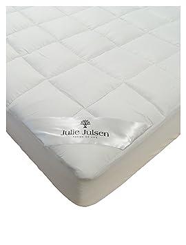 Julie Julsen® Micro de Comfort colchones de Fundas en Diferentes tamaños, cubrecama Sobrecolchón de