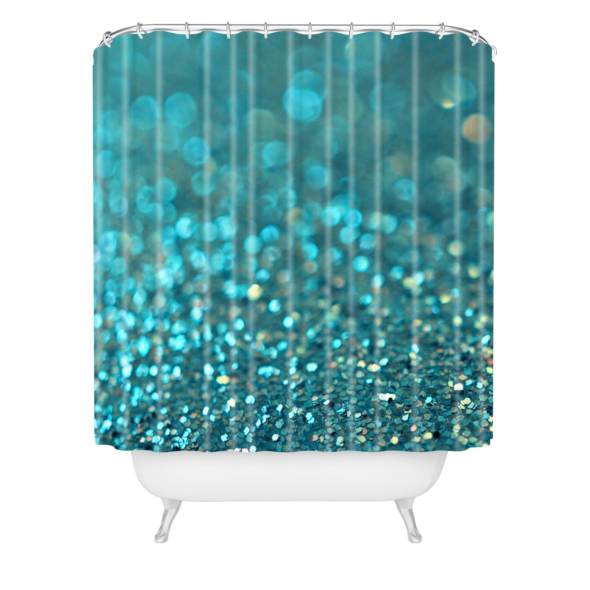 99 super cool shower curtains to transform your bathroom today for Cool net curtains