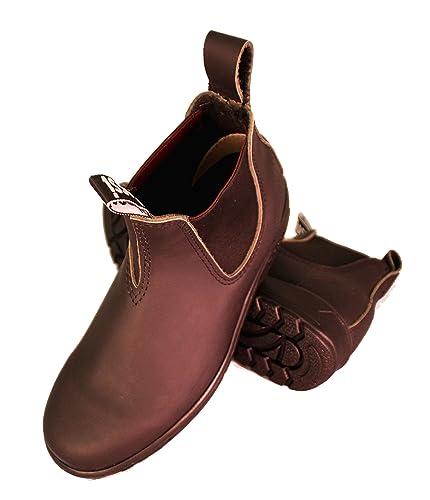 e51819d314b5e5 Endura Rossi Work Boots Black 301 Elastic Side Genuine Leather Size ...