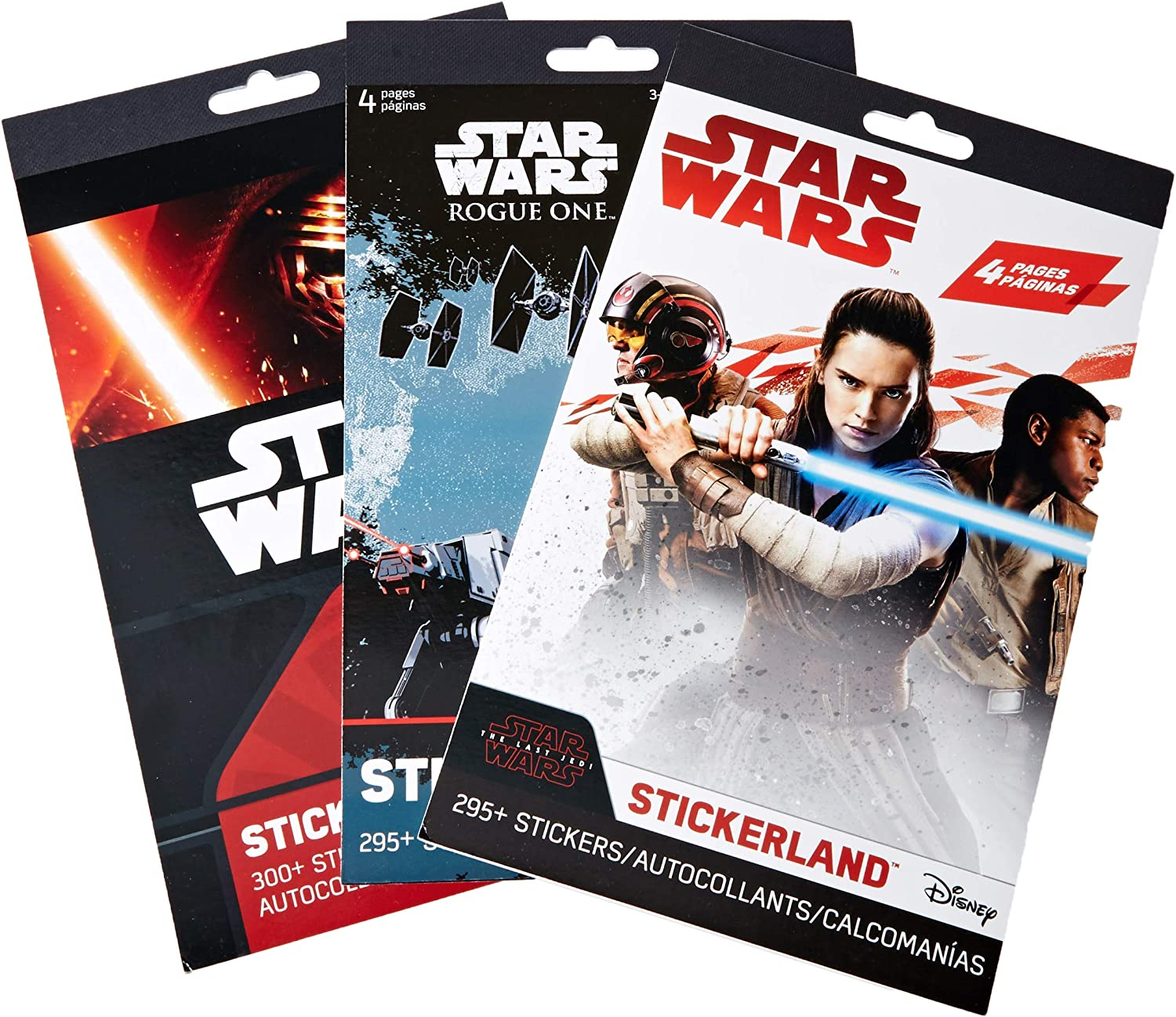 900 12 Sticker Sheets Perfect for Star Wars Party Favors Disney Studios Stickers Featuring Your Favorite Star Wars Characters Star Wars Stickers Variety Pack