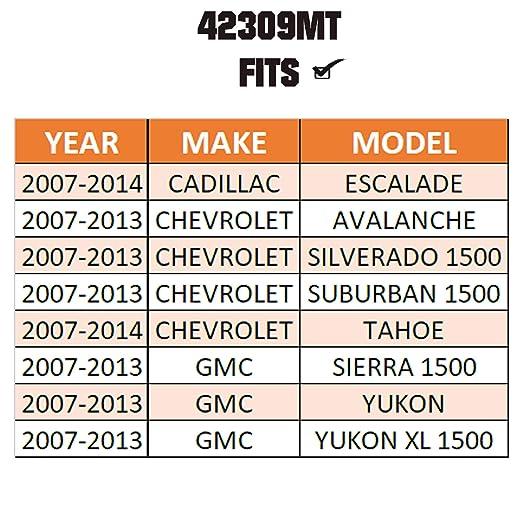 Made in TURKEY For EV800084 Escalade /& Avalanche /& Silverado /& Suburban /& Tahoe /& Sierra /& Yukon /& Yukon XL METRIX PREMIUM 42309MT Inner Tie Rod End