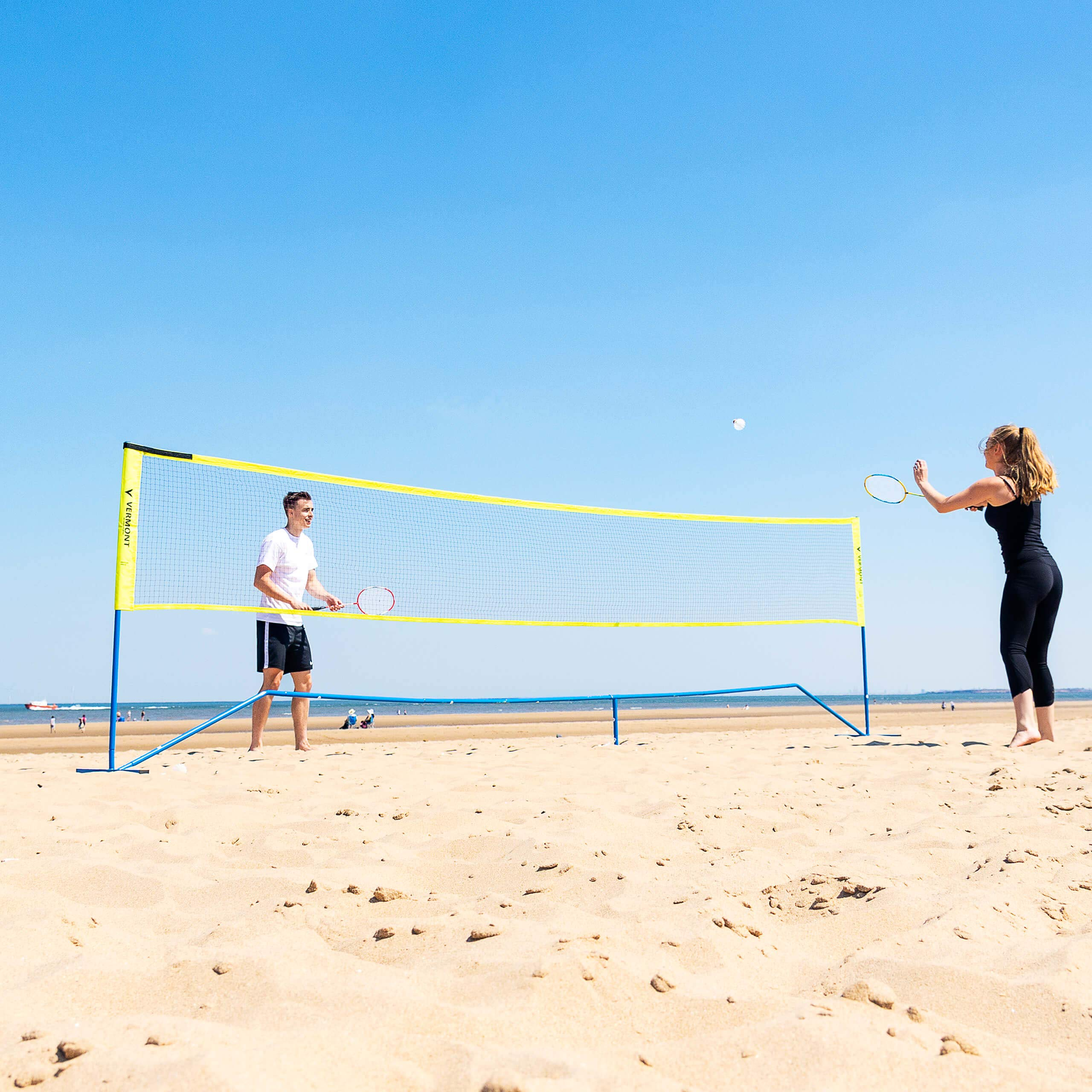 ProCourt Vermont Combi Net | Perfect for Tennis, Badminton, Pickleball, Volleyball & Soccer Tennis | Super Quick Assembly with Steel Poles | Use Indoors, Outdoors, On The Beach Or The Backyard! by ProCourt (Image #3)