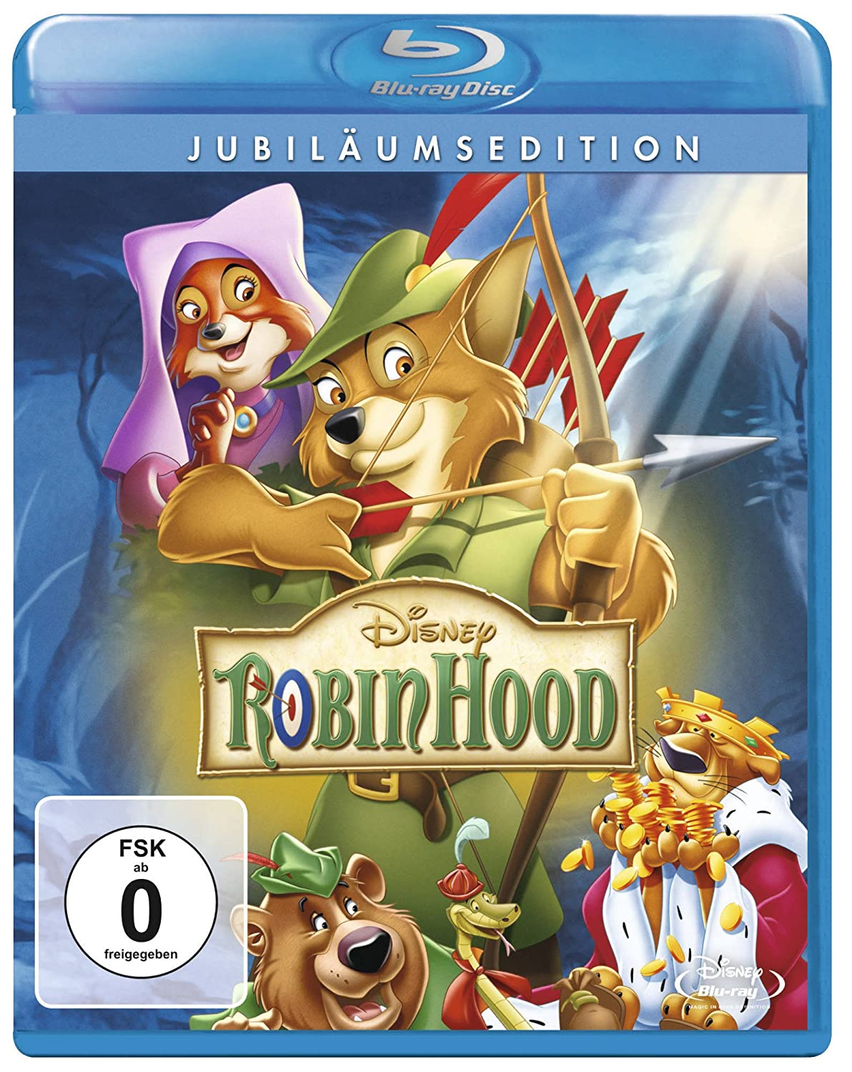 Robin Hood (Jubiläumsedition) [Blu-ray]: Amazon.de: DVD & Blu-ray