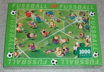 Puzzle 1000 Teile Fussball World Cup Von Loup Amazon De