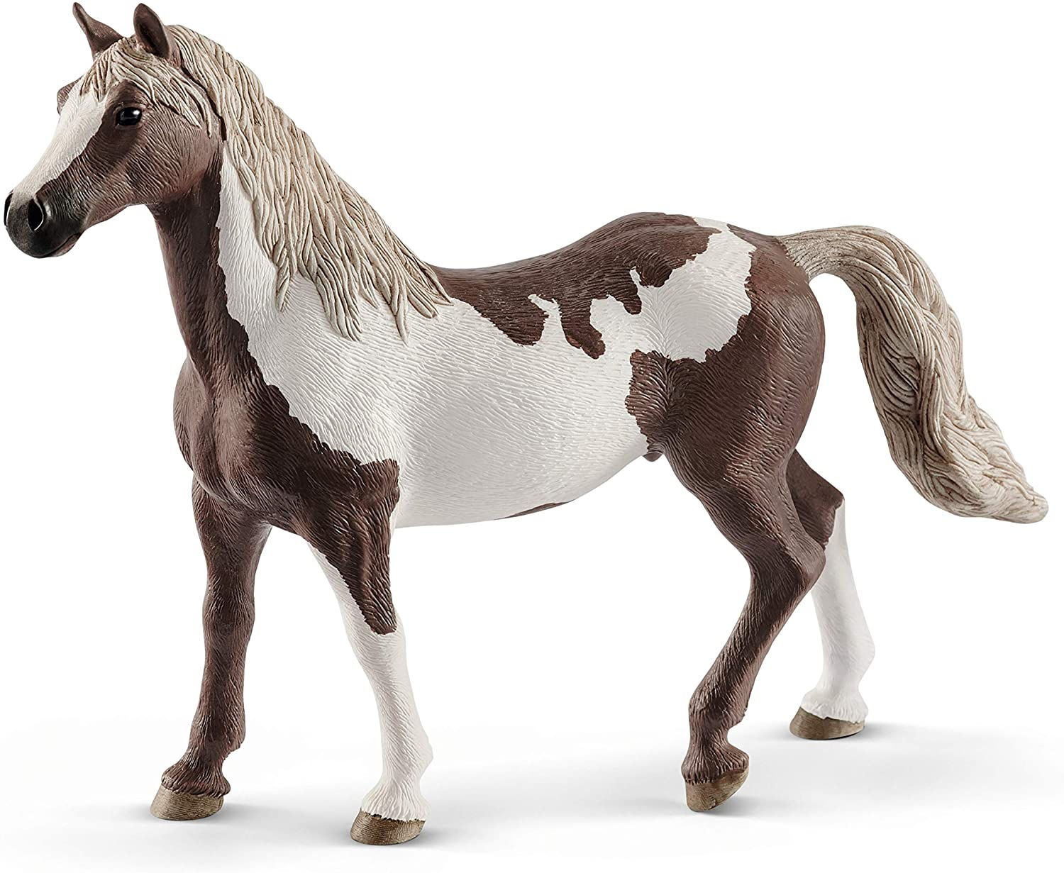 Amazon Com Schleich Horse Club Animal Figurine Horse Toys For Girls And Boys 5 12 Years Old Paint Horse Gelding Toys Games