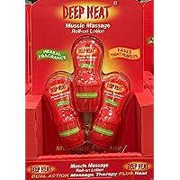 Deep Heat Muscle de masaje Roll On Loción