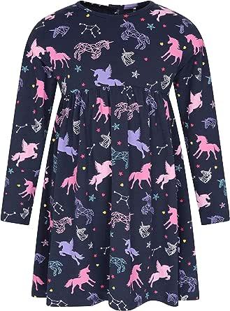 Mountain Warehouse Vestido de Punto de Invierno Infantil - Vestido Transpirable, Ligero, con Estilo y de fácil Cuidado - Prenda Ideal de niña para Navidad, Fiestas y Salir