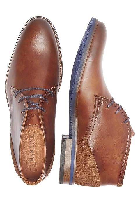 Van Lier Schuhe Plain Derby Boot Sabinus: : Schuhe