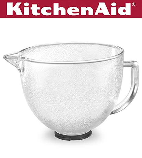 Strange Kitchenaid K5Gbh Tilt Head Hammered Glass Bowl With Lid 5 Quart Download Free Architecture Designs Ferenbritishbridgeorg