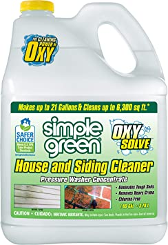 Oxy Solve House and Siding Pressure Washer Cleaner