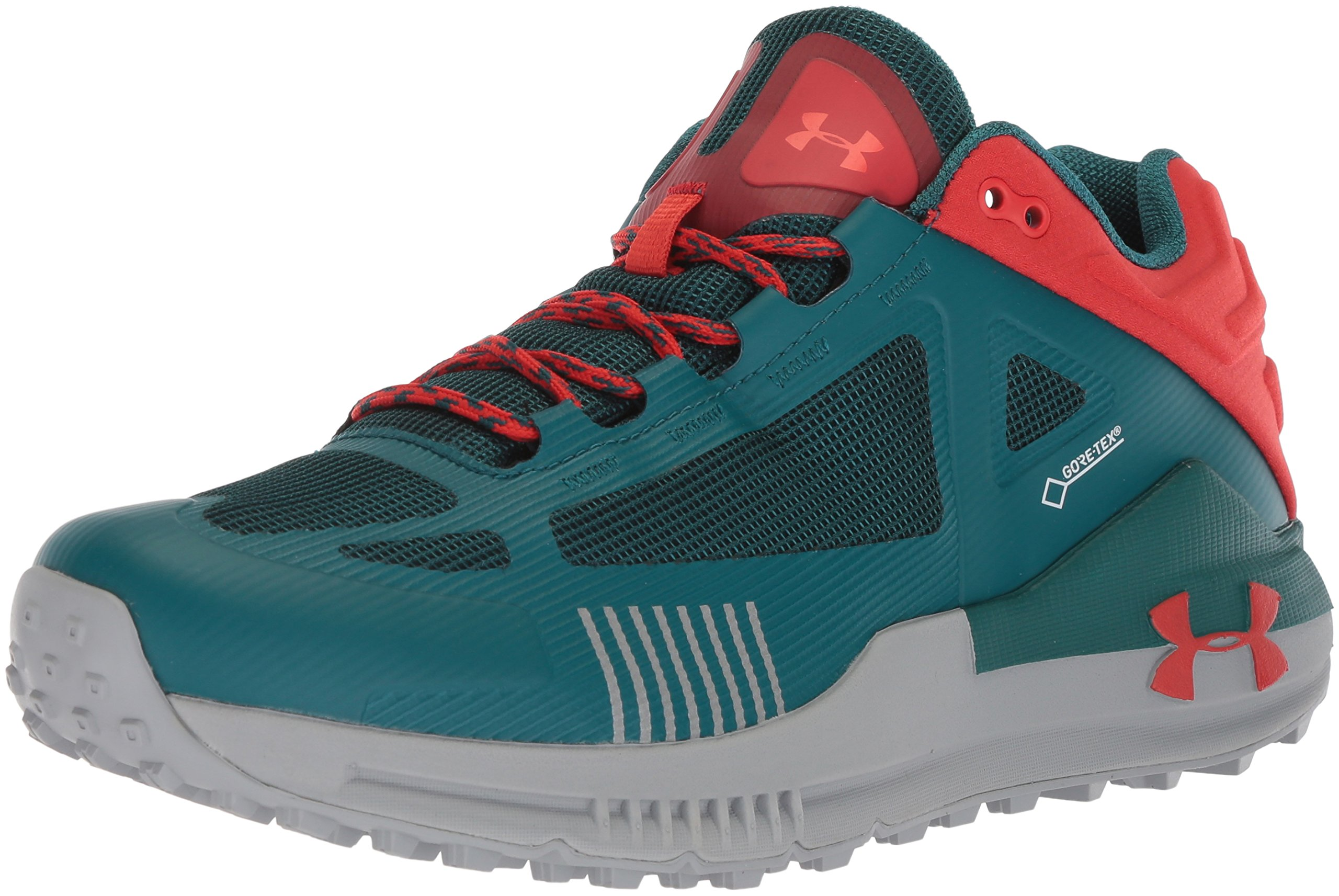 Under Armour Men's Verge 2.0 Low GORE-TEX, Tourmaline Teal (300)/Sultry, 8 by Under Armour
