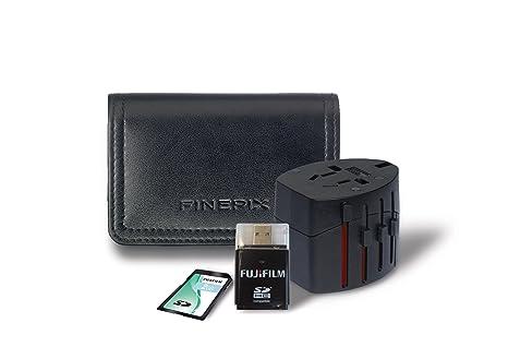 Fujifilm JZ300/JZ500 - Kit de accesorios (Tarjeta SD 2 GB ...