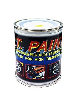 quattroerre 16071 Pintura para pinzas freno, GZM, testate, monoblocchi resistente altas temperaturas