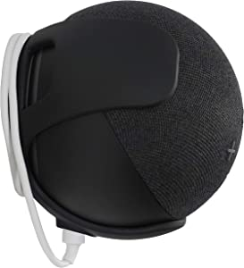 Nuevo soporte de pared Made for Amazon, color negro, para Echo Dot (4.ª generación)