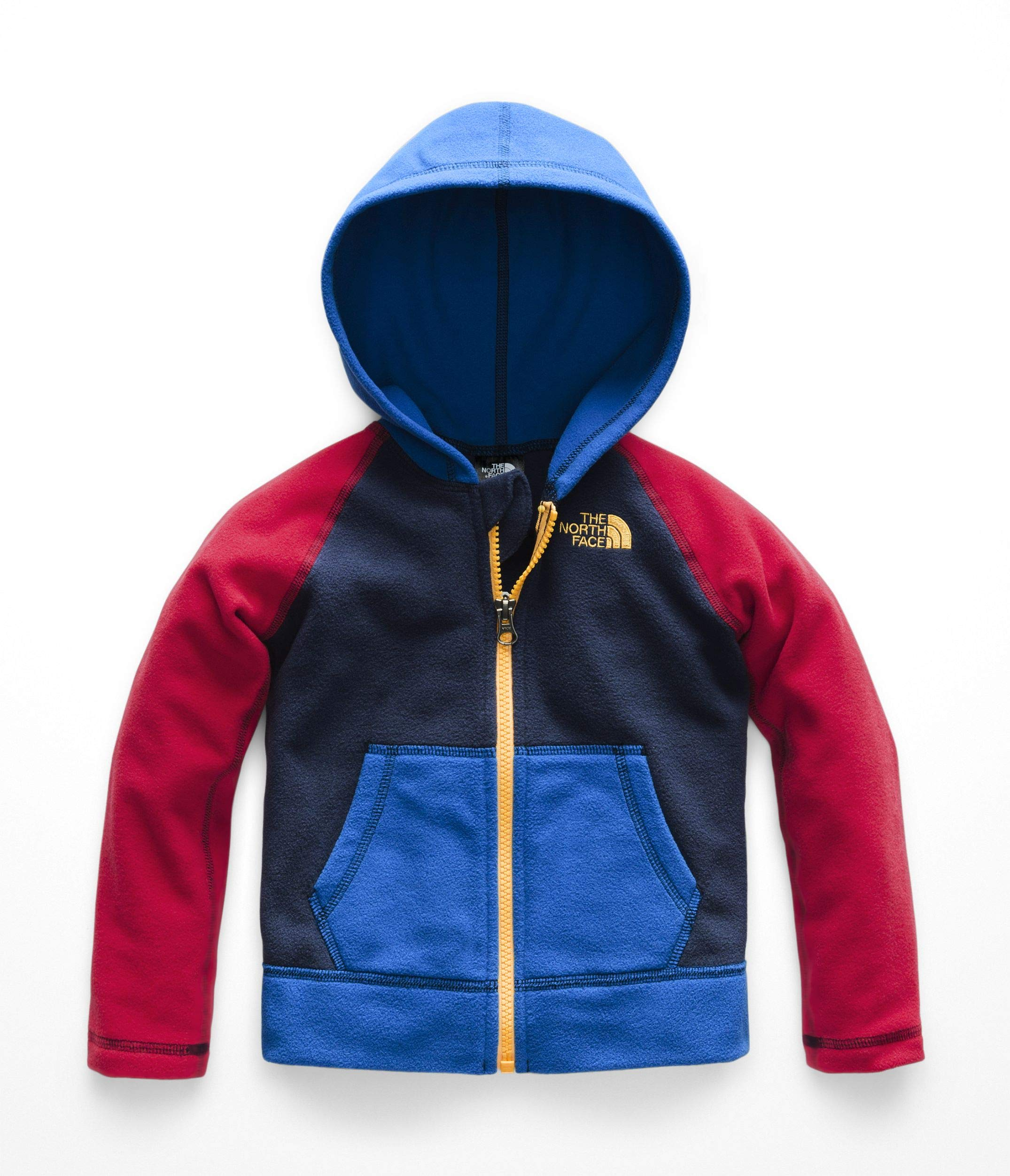 6627cc9fa Galleon - The North Face Toddler Glacier Full Zip Hoody - Cosmic ...
