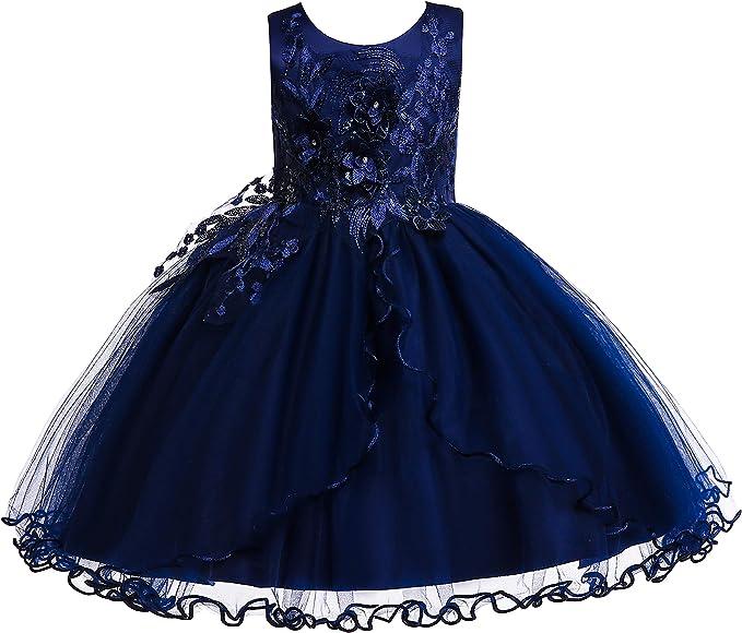 Amazon.com: Weileenice - Vestido de Navidad para niñas de 2 ...