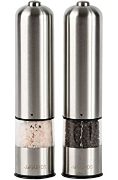 Jagurds One Hand Electric Pepper Grinder