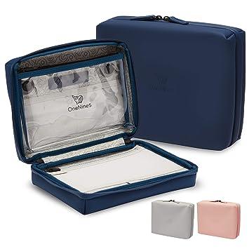 Neceser De Viaje OneNine5 en Azul Havelock, con Bolsa Transparente ...