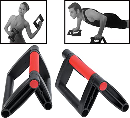 HemingWeigh Foldable Push Up Bar Collapsible Pushup Stand Lightweight and portable