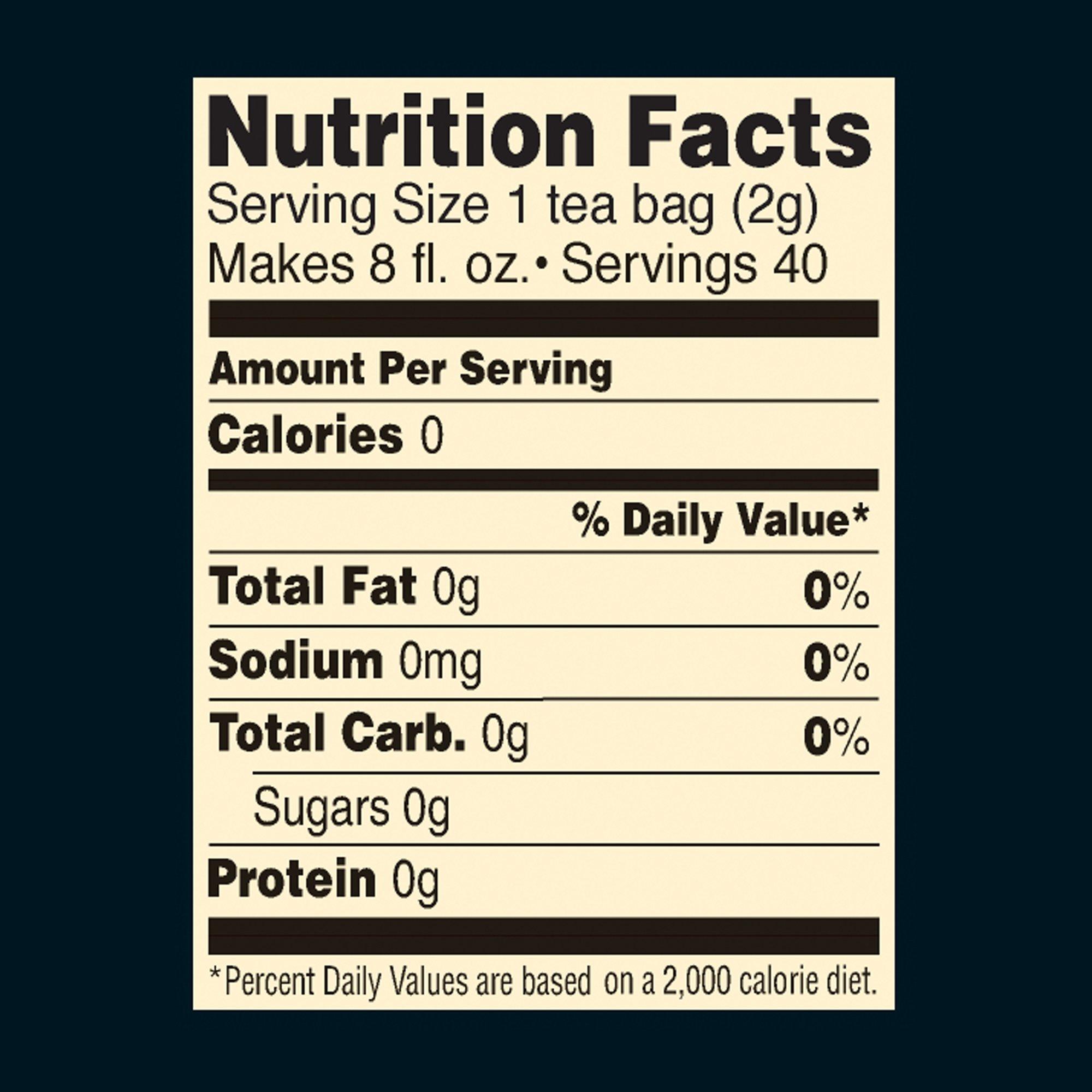 Celestial Seasonings Green Tea, Decaf, 40 Count (Pack of 6)