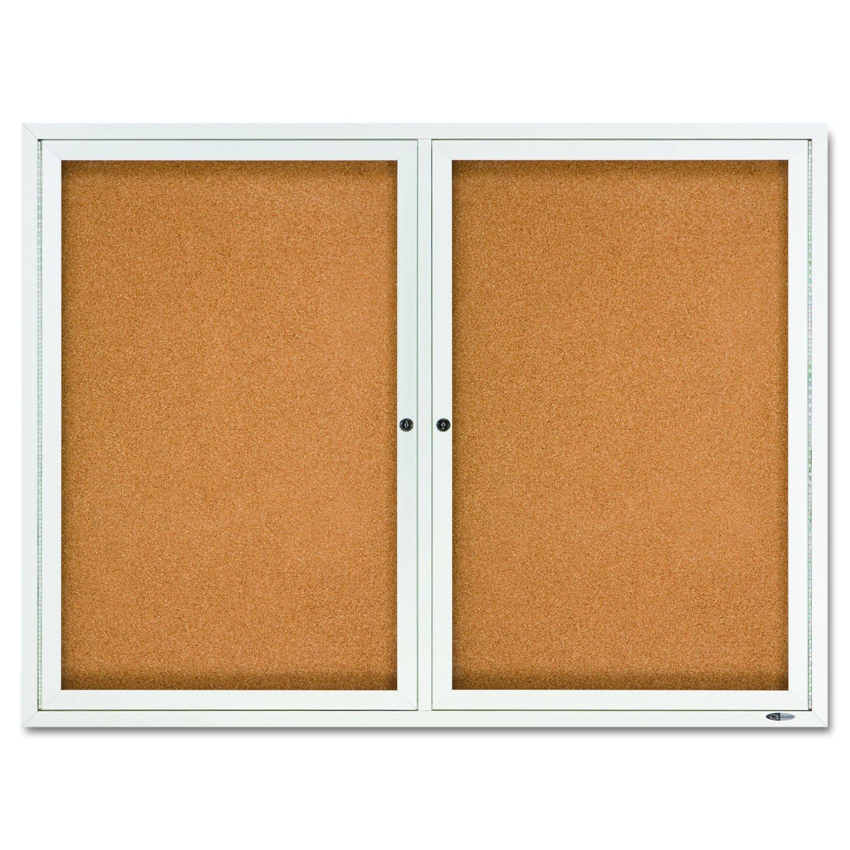 office cork boards. Amazon.com : Quartet Enclosed Cork Indoor Bulletin Board, 4 X 3 Feet, Aluminum Frame (2364) Message Boards Office Products B
