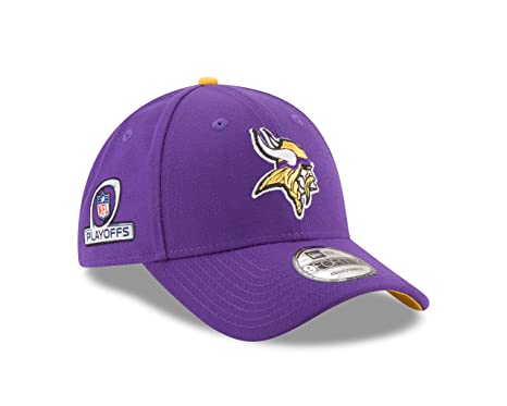 Image Unavailable. Image not available for. Color  Minnesota Vikings New  Era NFL 2017 Playoff Side Patch 9Forty Adjustable Hat 122d4ff8e76