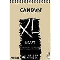 Bloco Espiralado XL A3 90g/m², Canson, 60039142, Kraft, 60 Folhas