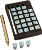 Tandy Leather Easy-To-Do Stamp Set Alphabet 0.6 cm (1/4) 4903-01