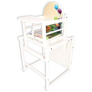 Baby Hochstuhl Mit Tisch.Kinderhochstuhl Kombihochstuhl Babyhochstuhl Hochstuhl Tisch Holz 6 Top Designs Schneeweiß