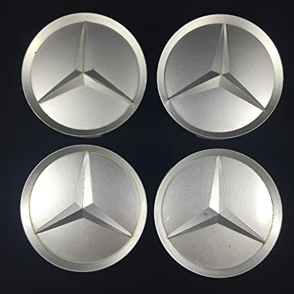 OEM Mercedes wheel center caps hubcaps emblem badge G E class AMG set of 4