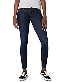 97df2f6c6b7ff G-STAR RAW 3301 Deconst Low Skinny Wmn - Amazon Exclusive Style - Vaqueros  Skinny