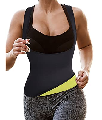 f6958c3416 Gotoly Hot Thermo Sauna Vest for Weight Loss Suit Sweat Neoprene Slimming  Body Shaper  Amazon.co.uk  Clothing
