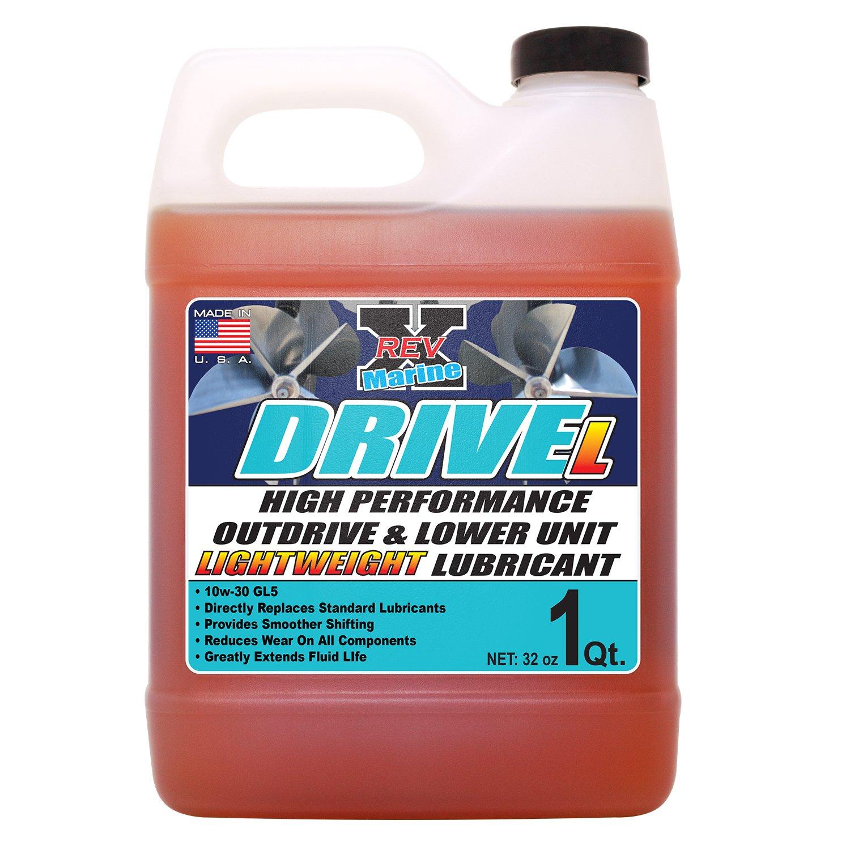 REV-X Drive L 10w30 Marine Outdrive Oil & Lubricant - 32 fl. oz. by REV-X