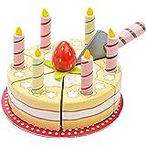 Le Toy Van Le Toy Van Geburtstagstorte aus Holz Mehrfarbig, Mehrfarbig