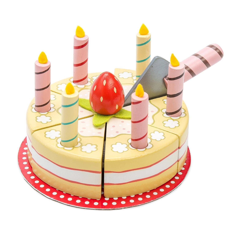 Amazon Le Toy Van Honeybake Collection Vanilla Birthday Cake