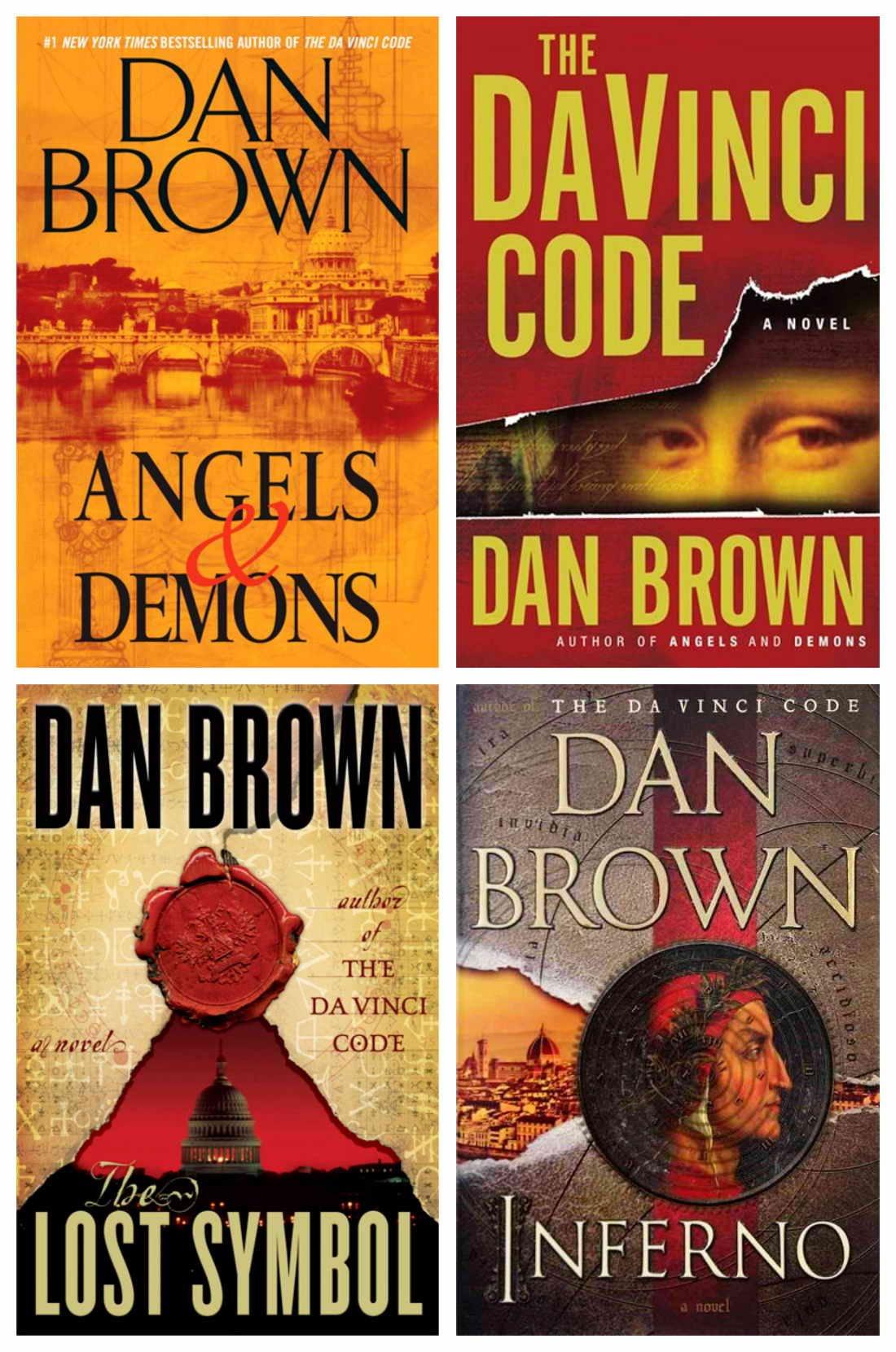 Amazon.com: Dan Brown's Robert Langdon Tetralogy Hardcover Set: Angel's &  Demons / The Da Vinci Code / The Lost Symbol / Inferno (0719534866227): Dan  Brown: Books