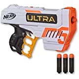 NERF Ultra Five Blaster - 4 Dart Internal Clip inc 4 Official Ultra Darts - The Farthest Flying Nerf Darts Ever - Kids…