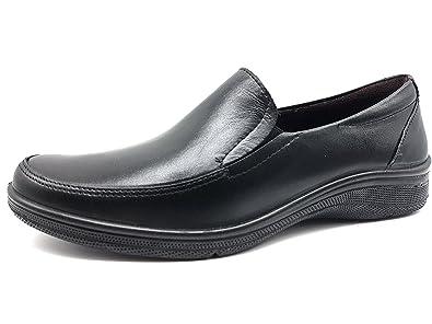 PITILLOS 2600 Zapato Mocasin Mujer Negro 36: Amazon.es: Zapatos y complementos