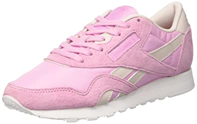 Reebok Women s Classic Nylon X Face Trainers  Amazon.co.uk  Shoes   Bags 4a9c31bc1