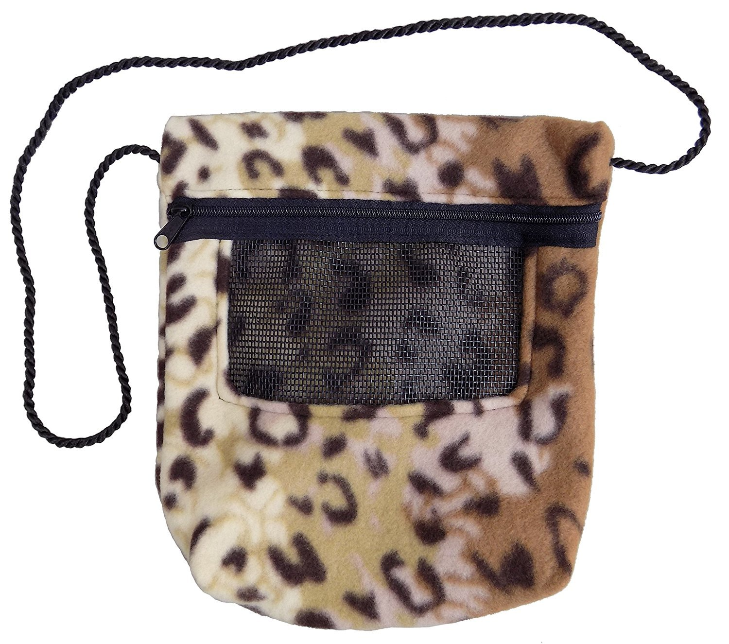 Bonding Carry Pouch for Sugar Gliders and other small pets (Jaguar)