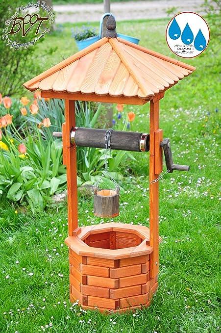 Brunnen Holz.Xxl Holz Brunnen Designer Gartenbrunnen Ca 100 110 Cm
