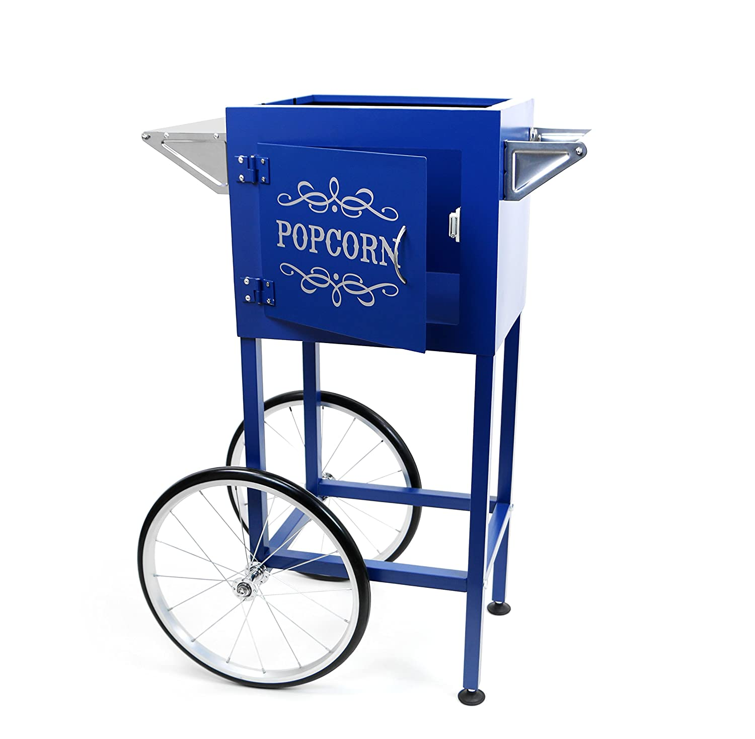 Paramount Popcorn Machine Cart Trolley – Color Blue