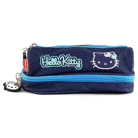 Hello Kitty 00567 - Estuche para escuela a tetra, color azul ...