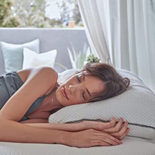 product image for Brentwood Home Ojai Luxury Shredded Cooling Gel Memory Foam Pillow, Adjustable for Better Sleep, Non-Toxic, Made in California, Standard Size