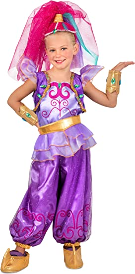 Girls Shimmer Fancy dress costume Small: Amazon.es: Juguetes y juegos