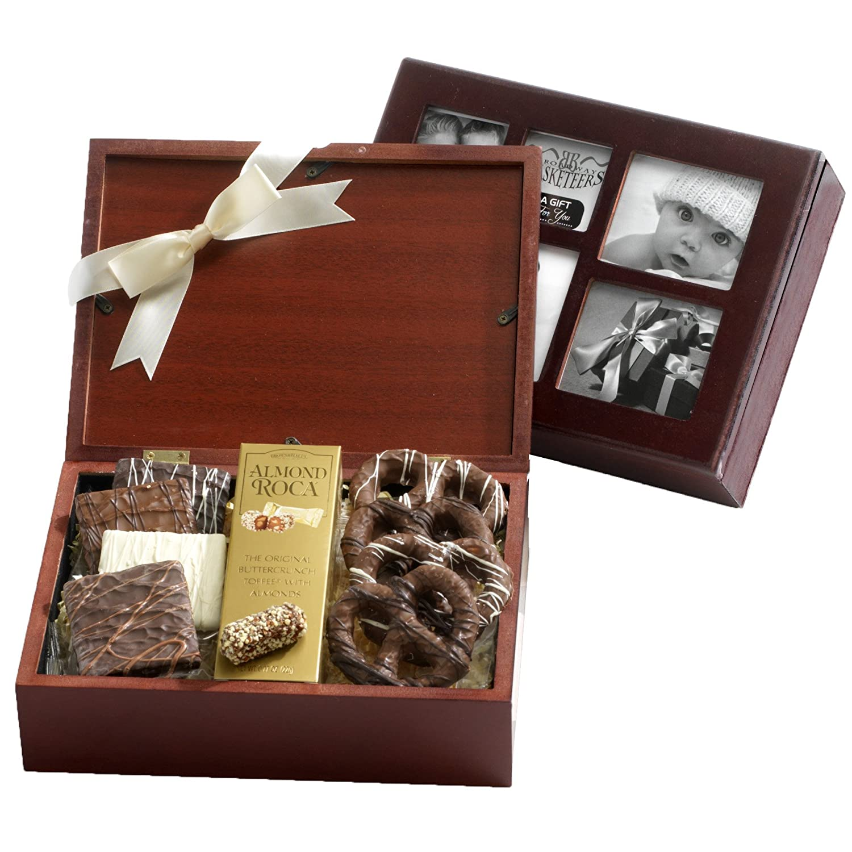 Amazon.com : Broadway Basketeers Chocolate Filled Photo Gift Box ...