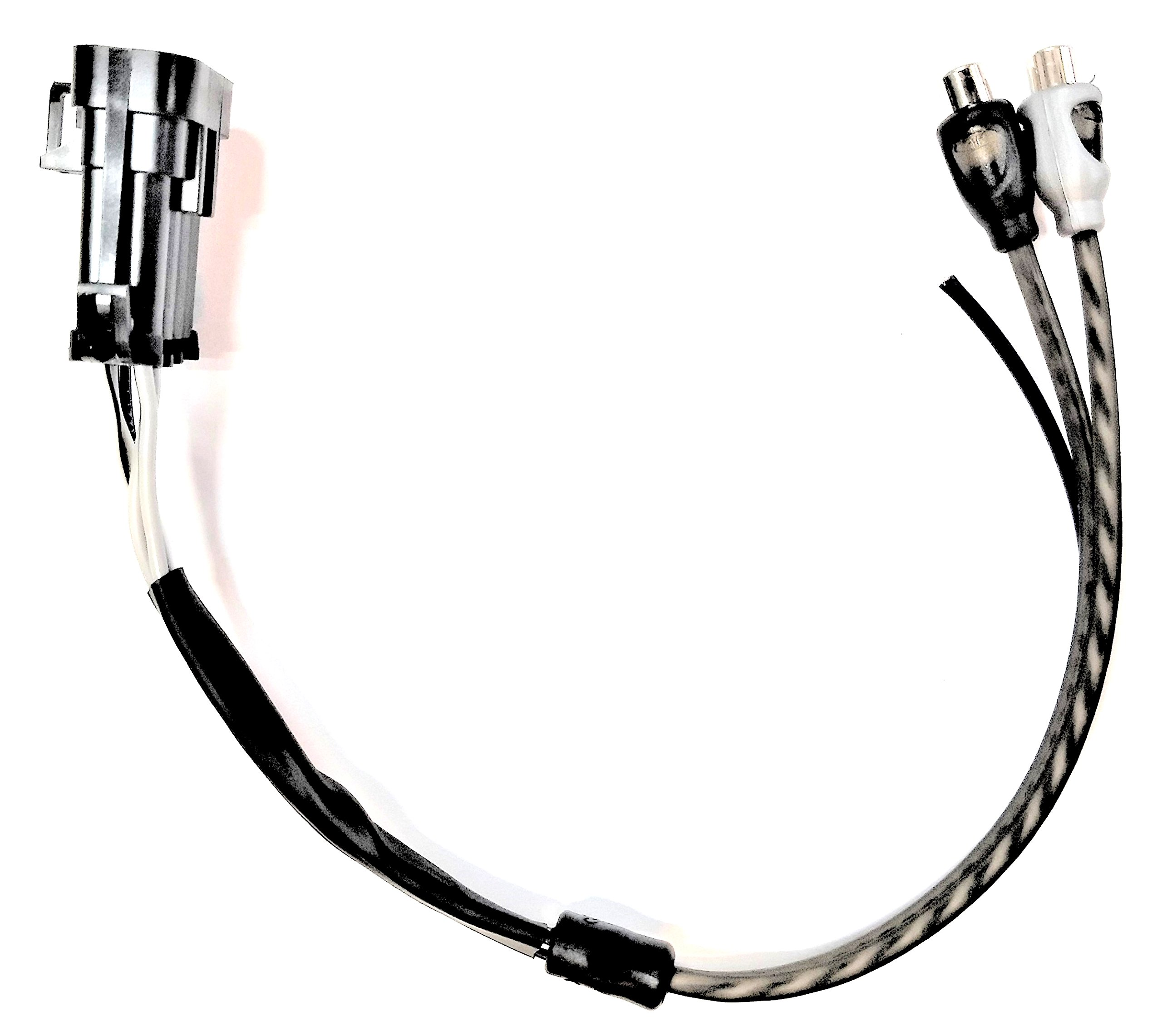 Polaris Ride Command 7'' Display Add-On Amplifier Harness - FEMALE - Plugs into factory wiring harness. Easily add an external amplifier