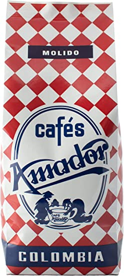 Cafés AMADOR - Café MOLIDO GRUESO Natural Arábica - COLOMBIA ...